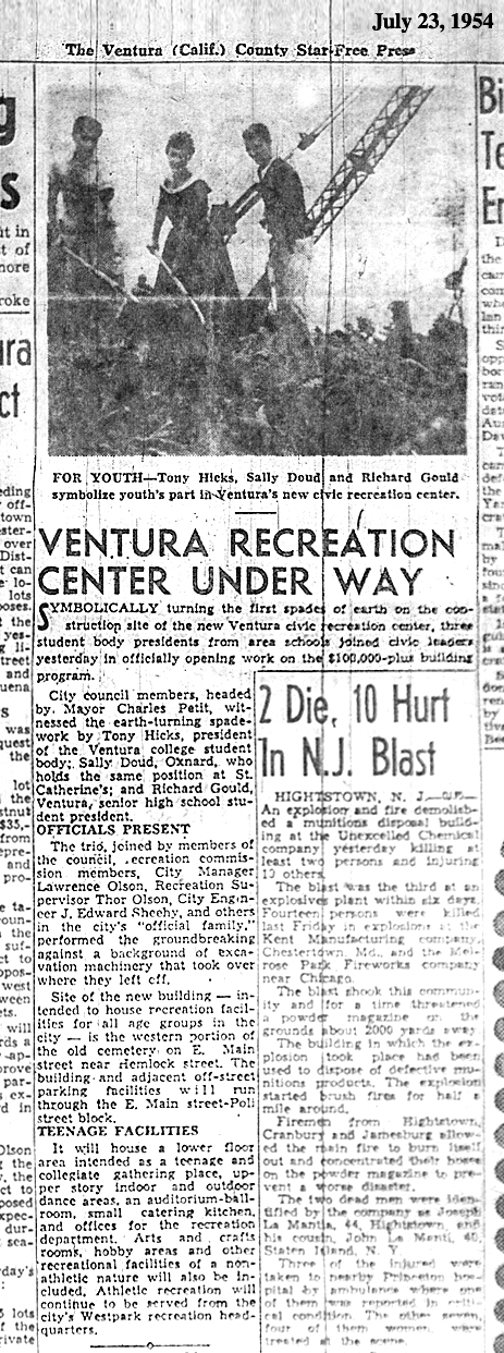Youth Center 1954